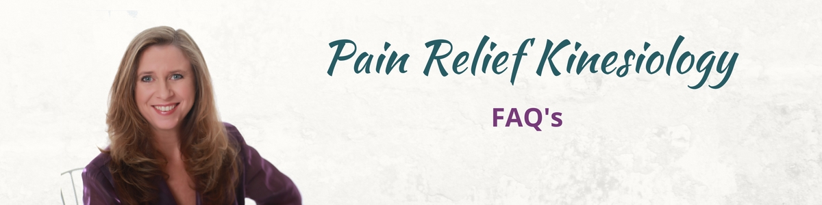 Pain Relief Kinesiology FAQ Header